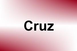 Cruz name image