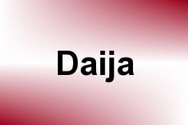 Daija name image