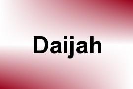 Daijah name image