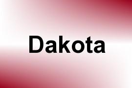 Dakota name image