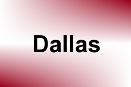Dallas name image