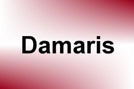 Damaris name image