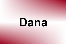 Dana name image