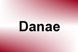 Danae name image