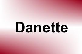 Danette name image