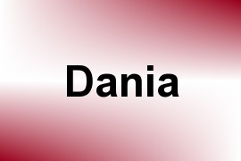 Dania name image
