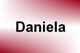Daniela name image