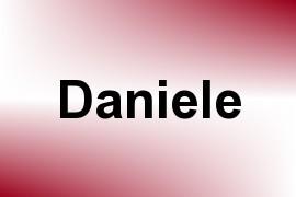 Daniele name image