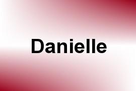 Danielle name image