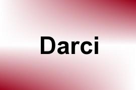 Darci name image