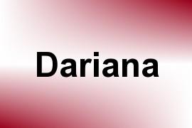 Dariana name image