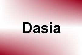 Dasia name image