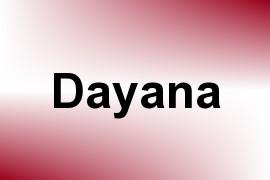 Dayana name image