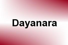 Dayanara name image