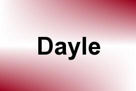 Dayle name image