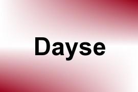 Dayse name image