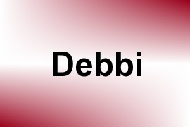 Debbi name image