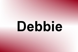 Debbie name image