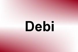 Debi name image