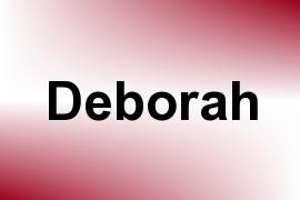 Deborah name image