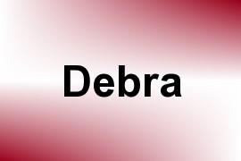 Debra name image