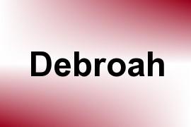 Debroah name image