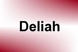 Deliah name image
