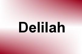 Delilah name image
