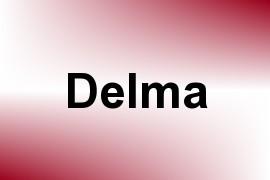 Delma name image