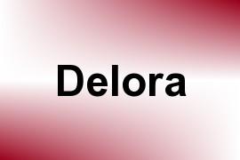 Delora name image