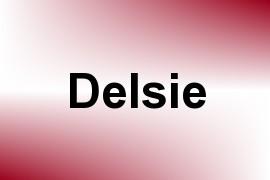 Delsie name image