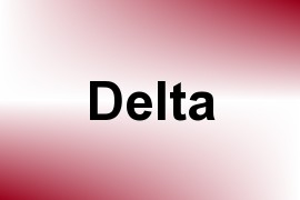 Delta name image