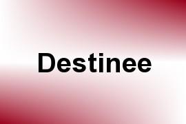 Destinee name image