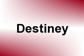 Destiney name image