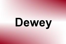 Dewey name image