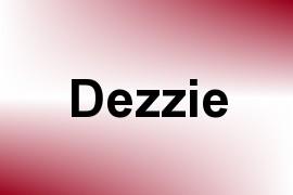 Dezzie name image