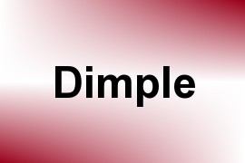 Dimple name image