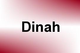 Dinah name image