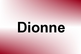 Dionne name image