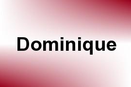 Dominique name image