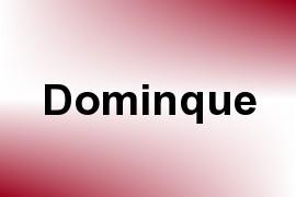 Dominque name image