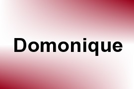 Domonique name image