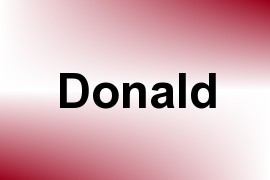 Donald name image