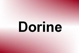 Dorine name image