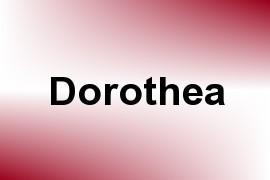 Dorothea name image