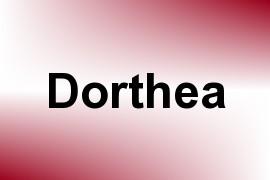 Dorthea name image