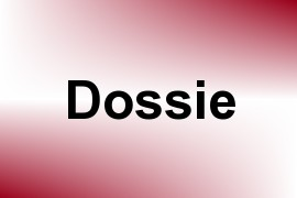 Dossie name image