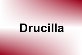 Drucilla name image