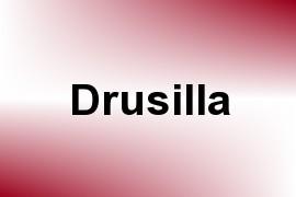 Drusilla name image