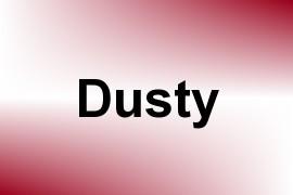 Dusty name image